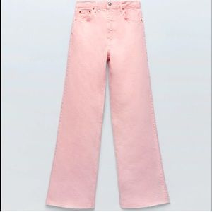 Zara The Daddy Pink Jeans 12